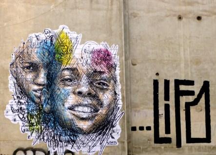 Mur d'Athènes (2013) ©Bleufushia