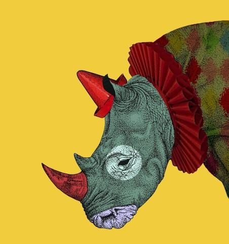 mongogushi rhino clown